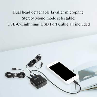 میکروفون یقه ای بویا مدل BY-DM20