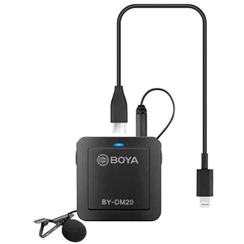 میکروفون یقه ای بویا مدل Boya BY-DM20