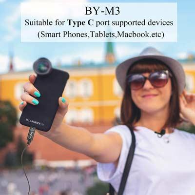 میکروفون یقه ای بویا مدل BY-M3