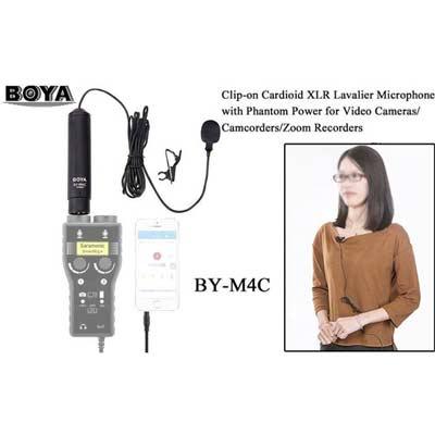 میکروفون کاردیود بویا مدل BY-M4C