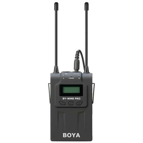 گیرنده میکروفون بویا مدل Boya BY-RX8 Pro