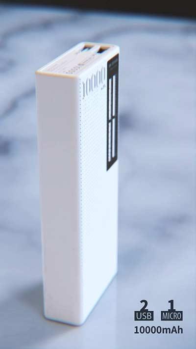 شارژر همراه دبلیو کی مدل WP-056 ظرفیت 10000 میلی آمپر