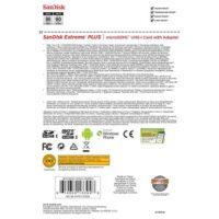 کارت حافظه سندیسک مدل SanDisk 32GB Extreme Plus UHS-I microSDHC
