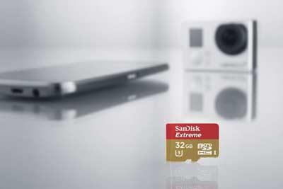 کارت حافظه سندیسک مدل SanDisk 32GB Extreme UHS-I microSDXC