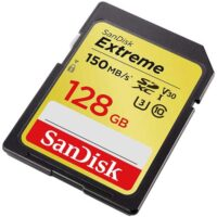 کارت حافظه سندیسک مدل SanDisk 128GB Extreme SDXC UHS-I U3
