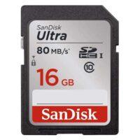 کارت حافظه سندیسک مدل SanDisk 16GB Ultra SDHC UHS-I