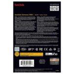 کارت حافظه سندیسک مدل SanDisk 512GB Extreme Pro SDXC UHS-I U3