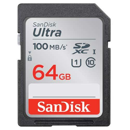 کارت حافظه سندیسک مدل SanDisk 64GB Ultra SDXC UHS-I