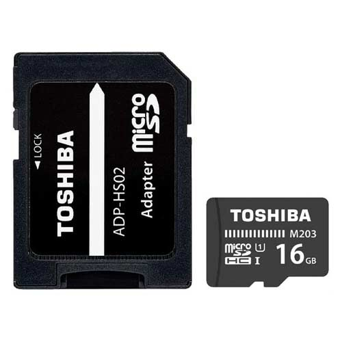 کارت حافظه توشیبا مدل Toshiba 16GB UHS-I microSDHC M203