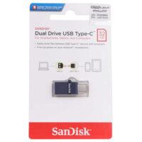 فلش مموری 32GB سندیسک SanDisk Dual Drive OTG Type-C USB2.0