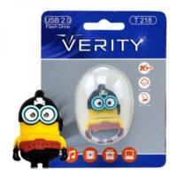 فلش مموری 64GB وریتی Verity T218 Flash Memory USB 2.0