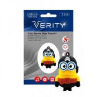فلش مموری 8GB وریتی Verity T218 Flash Memory USB 2.0