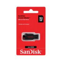 فلش مموری 32GB سندیسک SanDisk CRUZER Blade USB 2.0