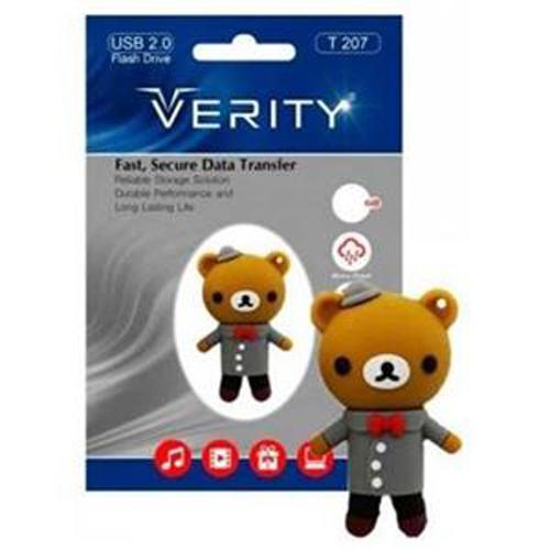 فلش مموری 8GB وریتی Verity T207 Flash Memory USB 2.0