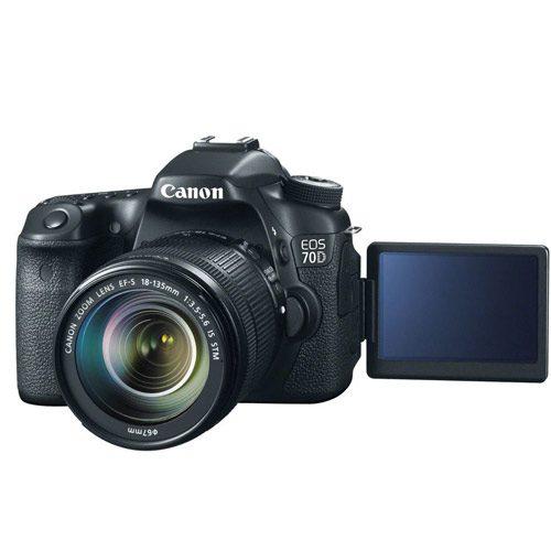 دوربین عکاسی کانن همراه لنز Canon EOS 70D Kit 18-135mm IS STM