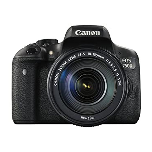 دوربین عکاسی کانن همراه لنز Canon EOS 750D Kit 18-135mm IS STM