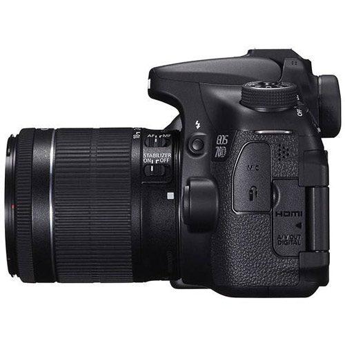 دوربین عکاسی کانن همراه لنز Canon EOS 70D Kit 18-55mm IS STM
