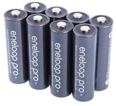باتری قلمی قابل شارژ پاناسونیک Panasonic Eneloop Pro بسته 2 عددی