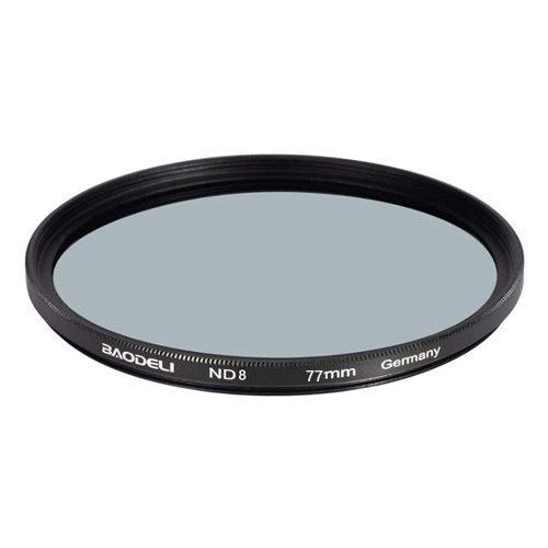 فیلتر لنز ان دی بائودلی مدل Baodeli ND8 77mm