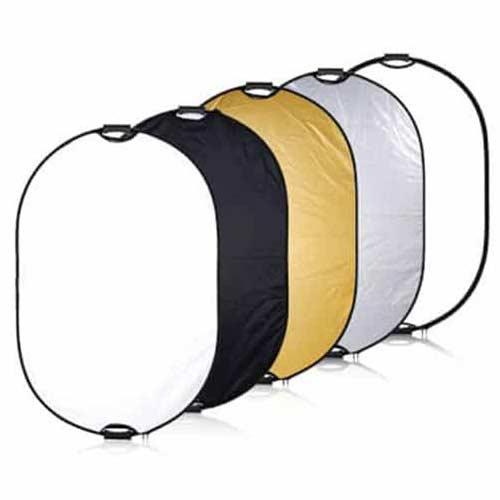 رفلکتور ۵ کاره وسکات دسته دار سایز ۸۰×۱۲۰ سانتی متر Westcott Reflector 5in1 80×120cm