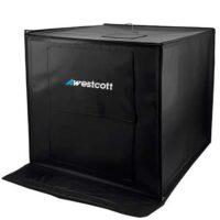 لایت باکس وسکات 50×50 دیمردار تک رنگ Westcott LED550W