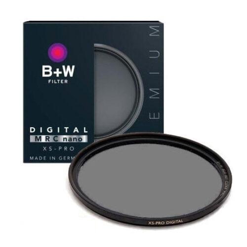 فیلتر لنز بی پلاس دبلیو مدل B+W Nano CPL MRC 67mm