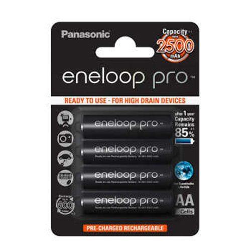 باتری قلمی قابل شارژ پاناسونیک Panasonic Eneloop Pro بسته 8 عددی