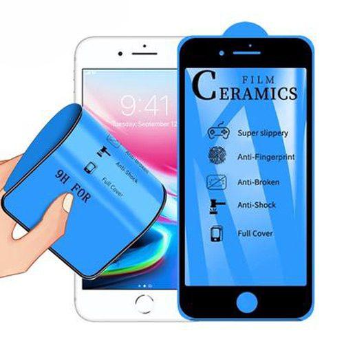 گلس و محافظ صفحه سرامیکی مات آیفون Iphone8+ Glass