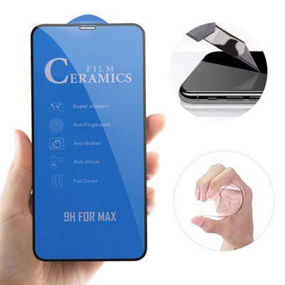 گلس و محافظ سرامیکی مات صفحه نمایش Iphone XR Glass