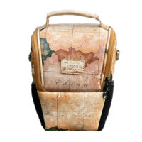 کیف دوربین عکاسی ترنگ طرح نقشه جهان Torang Bag