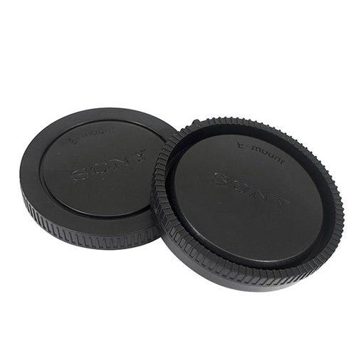 درب پشت لنز و بدنه سونی Sony Rear Lens Cap And Camera Body Cap