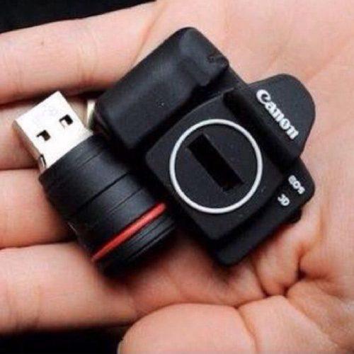 فلش مموری طرح دوربین عکاسی کانن ظرفیت 16 گیگابایت