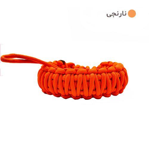 بند مچی دوربین عکاسی پاراکورد نارنجی Camera Strap Paracord 015