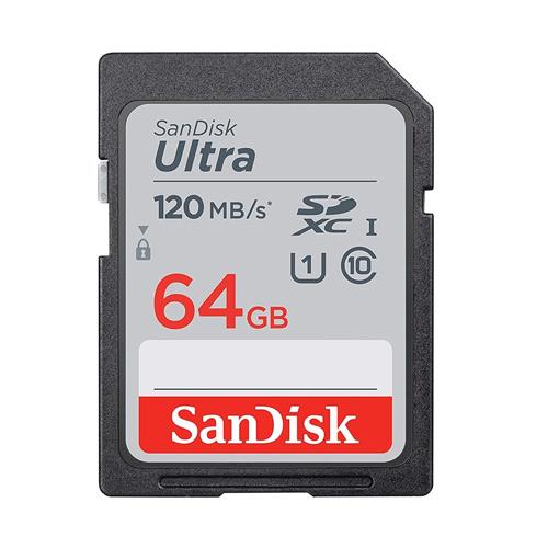 کارت حافظه سندیسک مدل SanDisk 64GB Ultra SDHC UHS-I 120MB/s