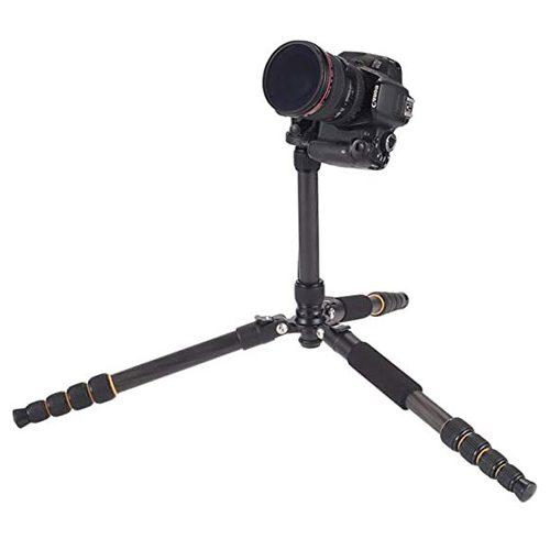 سه پایه مونوپاددار فیبر کربن زومی مدل Zomei Q666C Carbon Fiber Camera Tripod