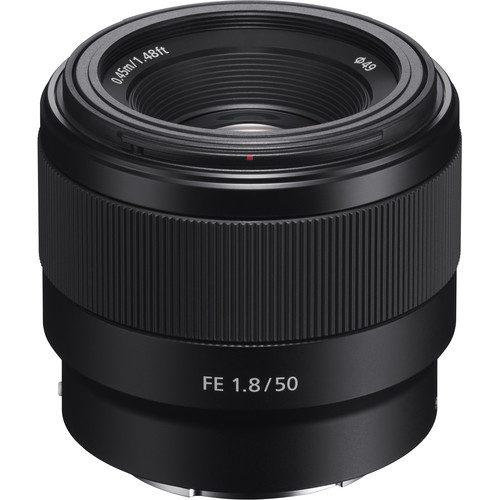 لنز سونی مدل Sony FE 50mm f/1.8
