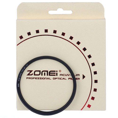 فیلتر لنز یووی زومی Zomei Slim MC UV 62mm Filter