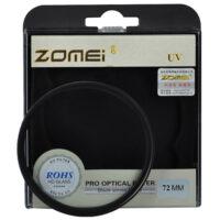 فیلتر لنز یووی زومی Zomei UV 72mm Filter