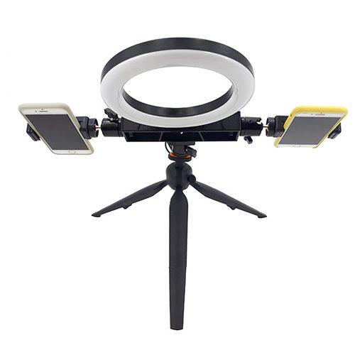 کیت کامل تولید محتوا Ringlight 18cm Plus Kit001