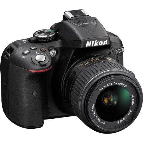 دوربین عکاسی نیکون همراه لنز Nikon D5300 Kit 18-55mm AF-P VR