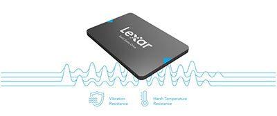 هارد اینترنال 120 گیگابایت لکسار Lexar NQ100 Internal SSD