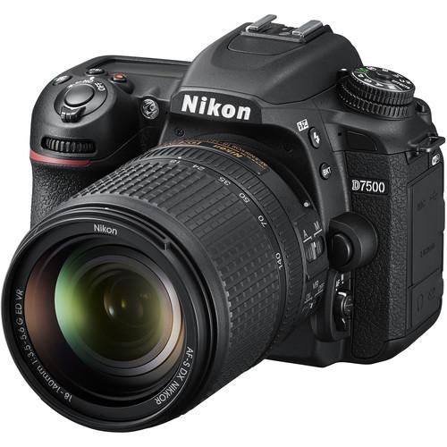 دوربین عکاسی نیکون Nikon D7500 Kit 18-140mm AF-P VR