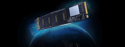 هارد اینترنال 1 ترابایت لکسار Lexar NM610 M.2 SSD