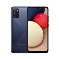 گوشی موبایل سامسونگ مدل Samsung A02 S با ظرفیت 32 گیگابایت رم 3 گیگابایت رنگ آبی