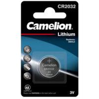 باتری قلمی و نیم قلمی کملیون مدل Camelion CR2032 Lithium Button Cells بسته 20 عددی