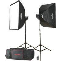 کیت فلاش 2 شاخه استودیویی گودگس Godox MS300-F 2 Monolight Kit