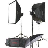 کیت فلاش 3 شاخه استودیویی گودگس Godox MS300-F 3 Monolight Kit