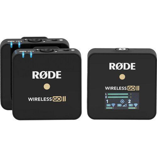 میکروفون بی سیم یقه ای رود Rode Wireless Go II Black