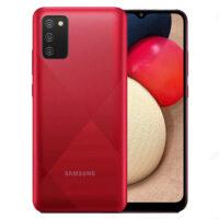 گوشی موبایل سامسونگ مدل Samsung A02S با ظرفیت 32 گیگابایت رم 3 گیگابایت رنگ قرمز