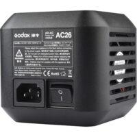مبدل برق مستقیم AC-26 گودکس | Godox AC Adapter for AD600Pro Witstro Outdoor Flash